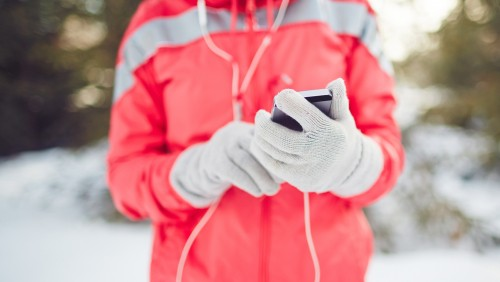Smartphone Touchscreen Gloves - Winter Tech Accessories