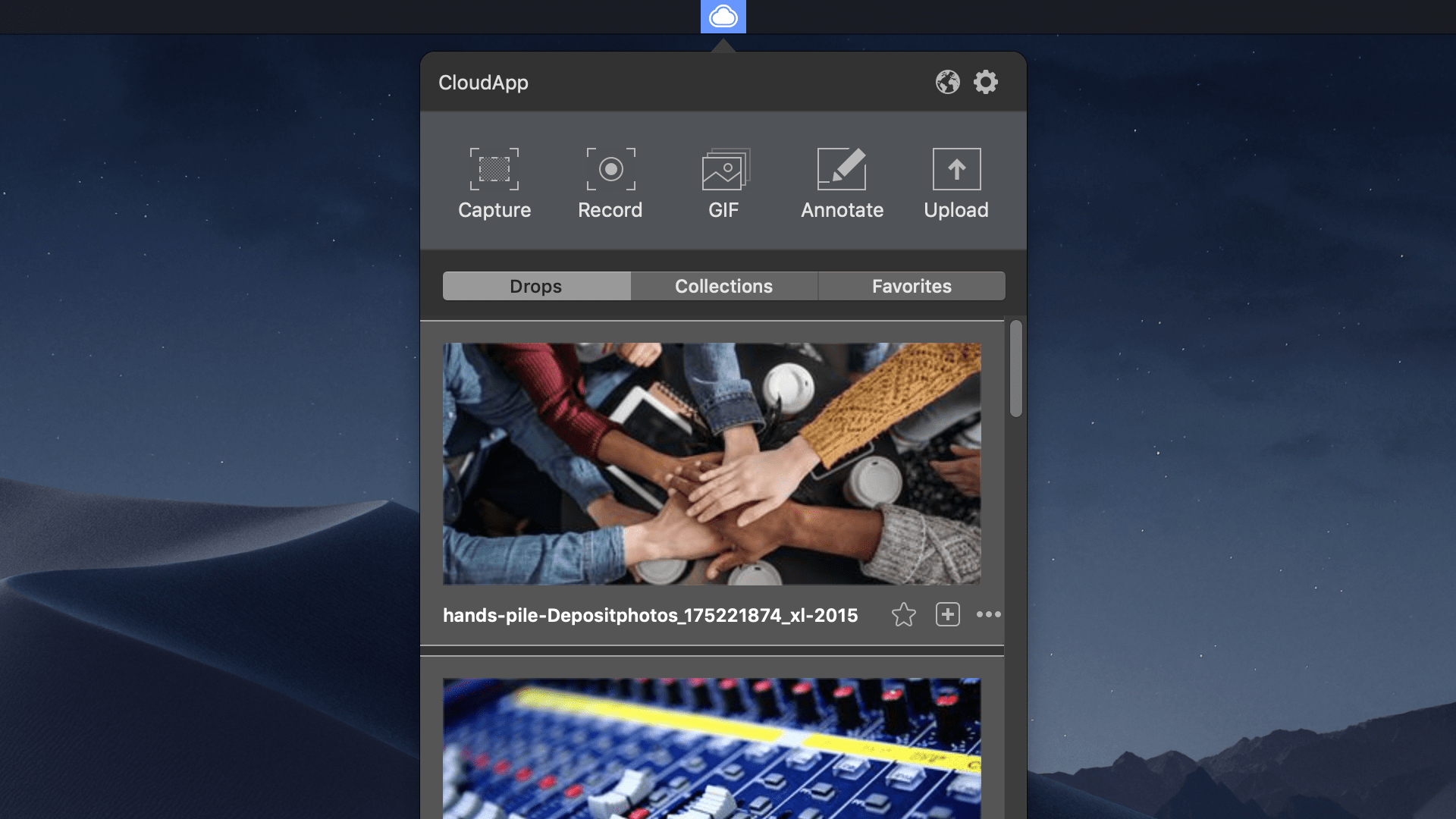 CloudApp - screen capture and recorder for storing, annotating, and sharing