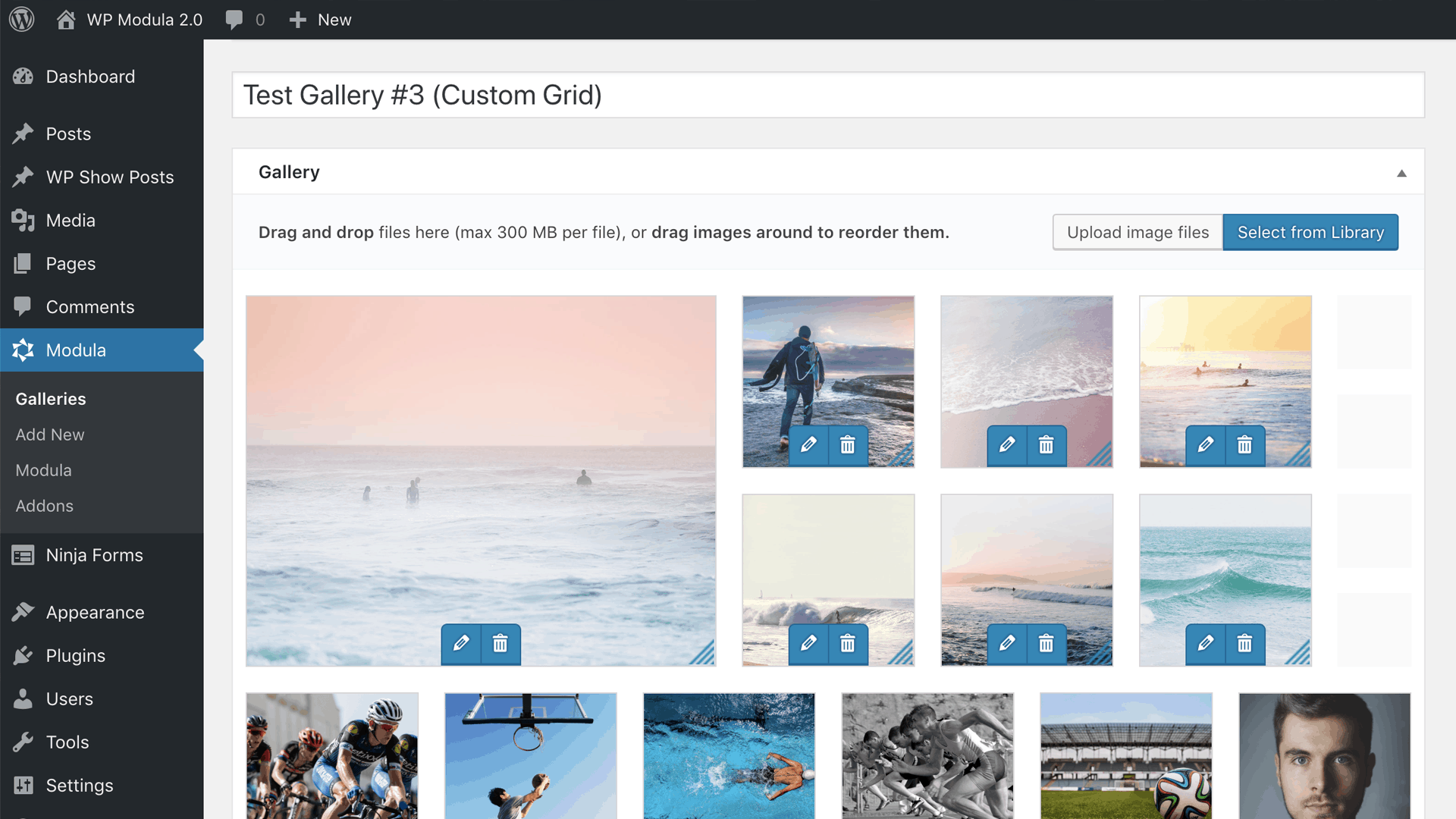 Modula Image Gallery WordPress lightboxes and masonry grids