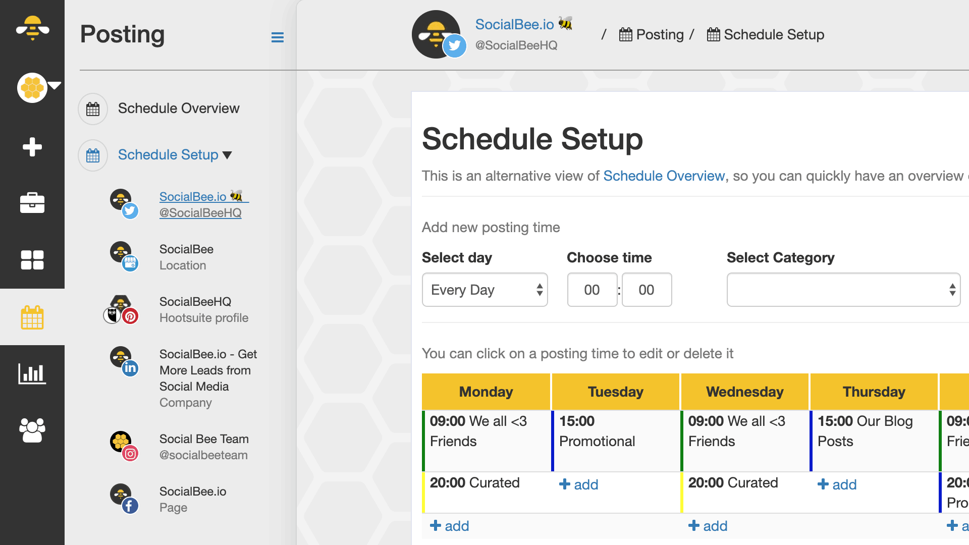 SocialBee - social media management tools for creators