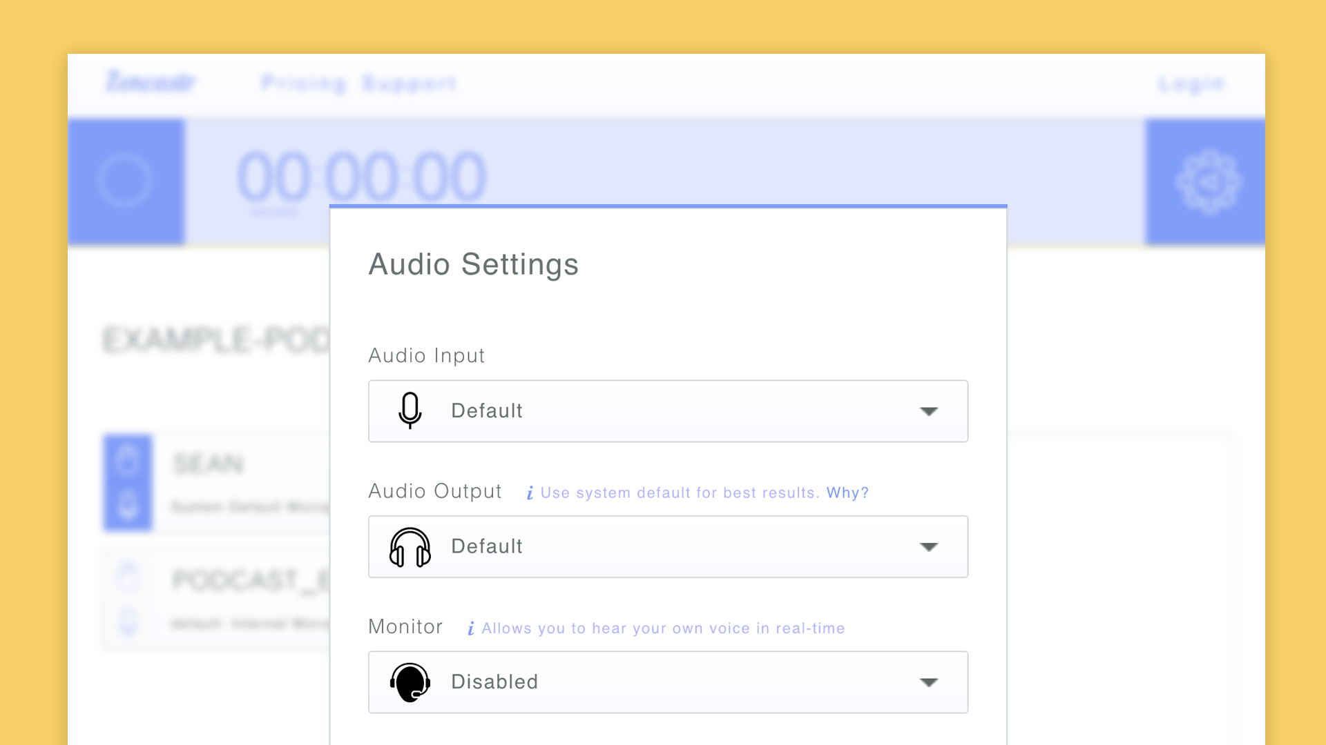 Zencastr - studio quality remote interviews recorder for podcasters